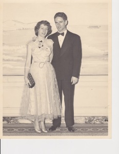 My mother and father -- when they really were going to a dance.