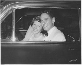 wedding album - car