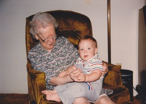 Philip and his great-grandmother