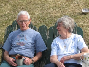 Mom and Dad -- summer of 2011
