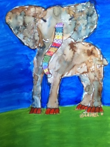 Laurel's elephant