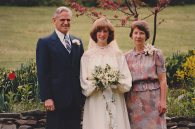 Dad, me, Mom -- 1982