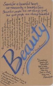 My Beauty journal
