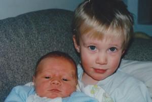 Baby Karl and Jacob
