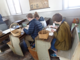 Crafts in the one room schoolhouse