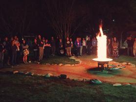 Vortex of Fire (photograph by Kristen Kopp)
