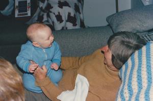 Sam and Mom -- 1990