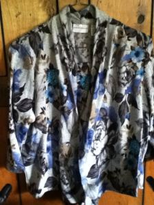 the flowered shirt